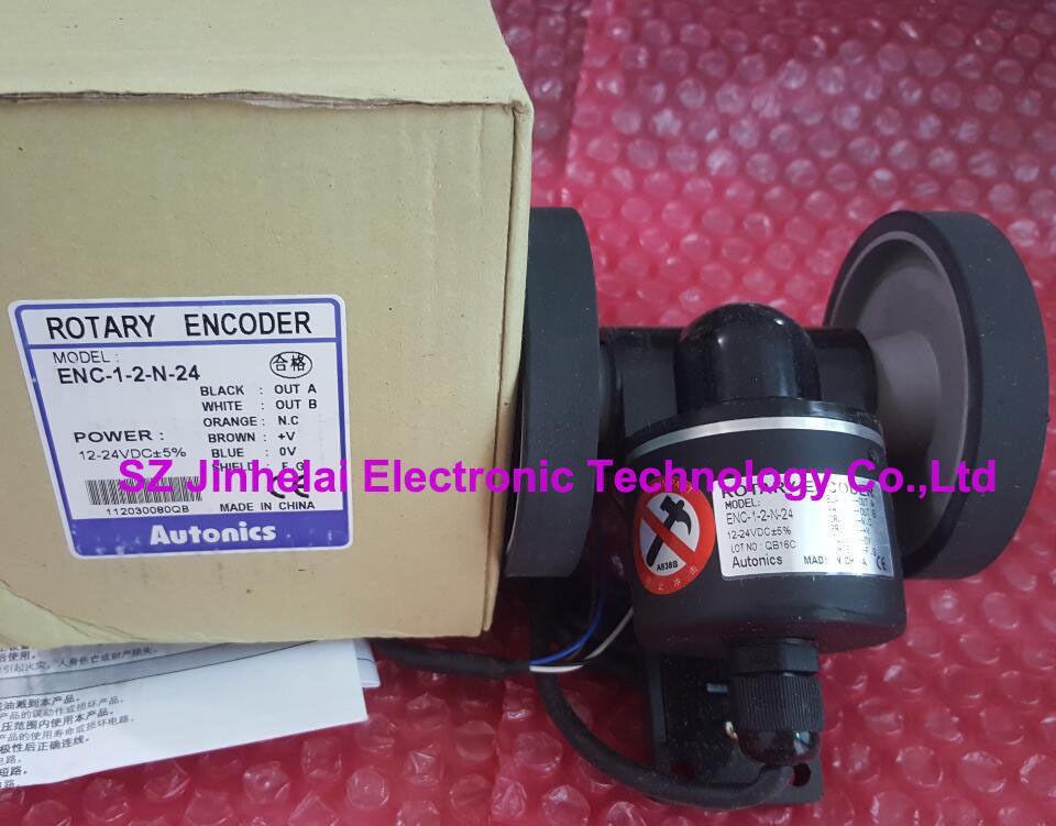 ENC-1-2-N-24 New and original AUTONICS Roller incremental rotary encoder new and original mutoh vj 1604 vj 1204 pf enc a0 assy printers