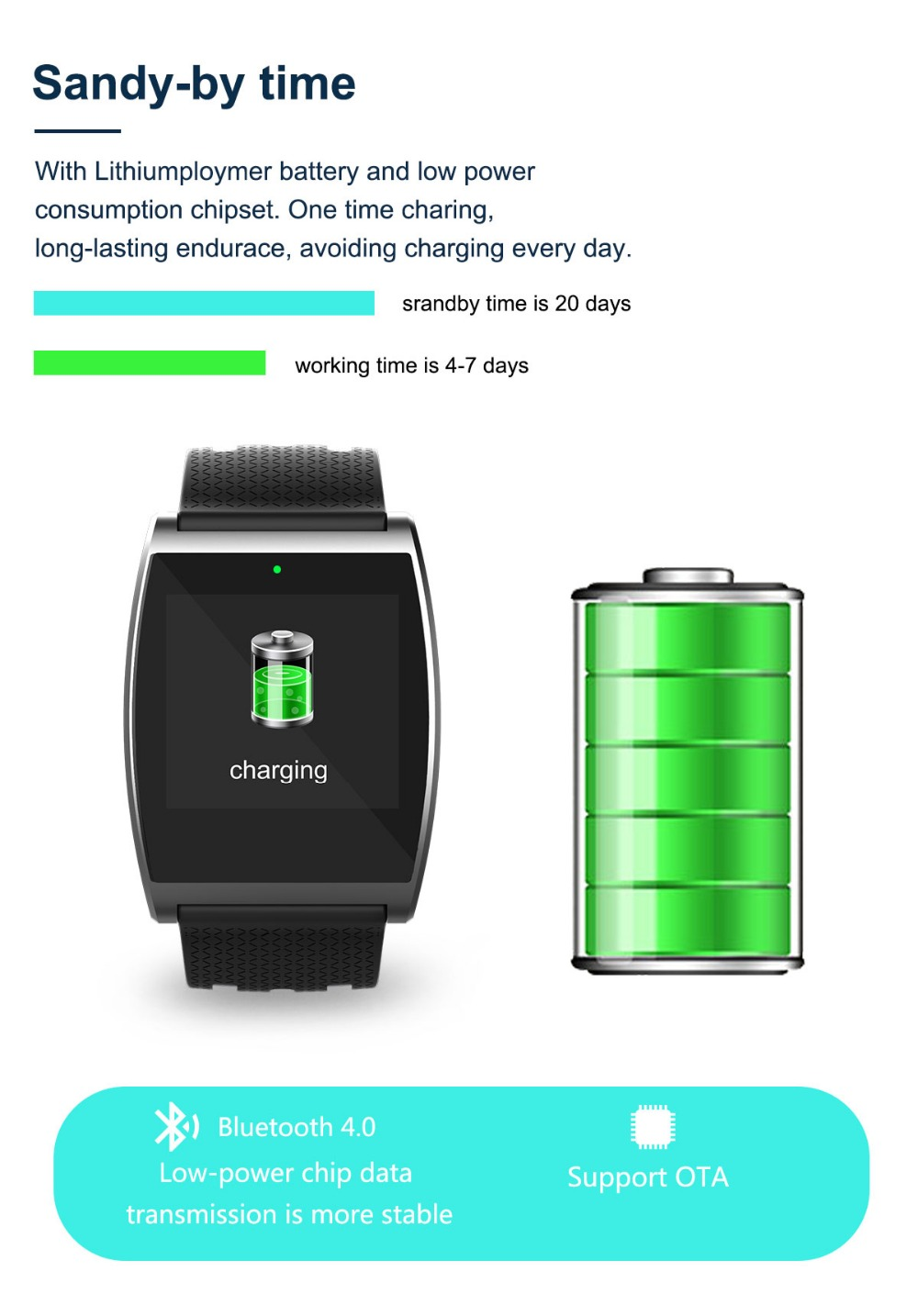 2018 Smart Watch QS05 Wristband With Blood Pressure Blood Oxygen Heart Rate Monitor Sports Activity Tracker Fitness Smartwatch (13)