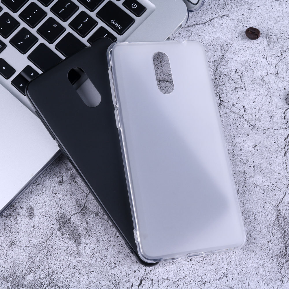 For <font><b>Alcatel</b></font> <font><b>1X</b></font> (2019) 5008Y Fingerprintless Version Back Cover Capa Soft Silicon Gel Rubber Matte Black Cover Coque <font><b>Phone</b></font> <font><b>Case</b></font> image