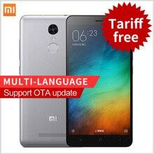 "Original Xiaomi Redmi Note 3 Pro Prime Note3 5.5"" fingerprint ID smartphone MIUI7 Snapdragon 650 4G FDD LTE phones"
