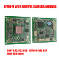 DIY 800TVL Sony 663 WDR CCD+Effio-V DSP Analog CCTV PCB Board Camera Module OSD Control Cable HLC Motion Detection Free Shipping