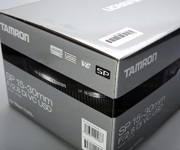Tamron SP 15-30mm f/2.8 Di VC USD Ultra-Wide-Angle Zoom Lens For Canon tamron sp 15–30 mm f 2 8 di vc usd canon объектив