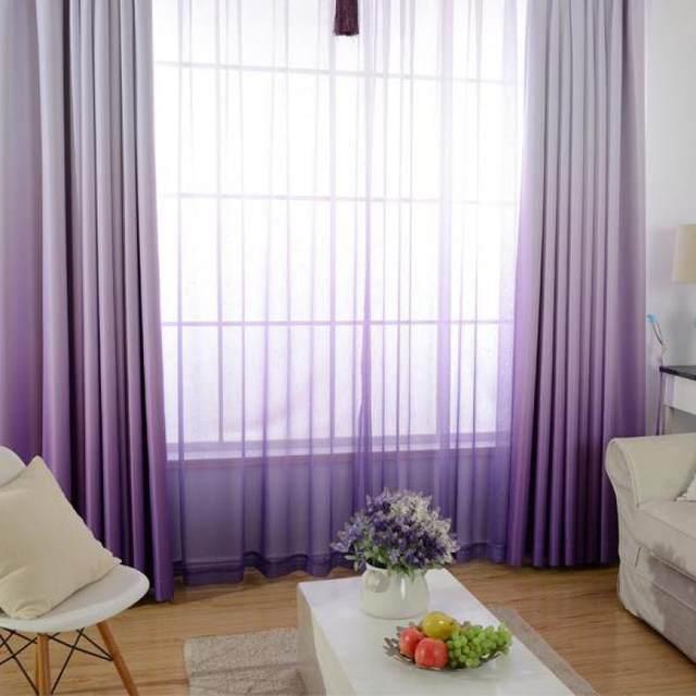 Online Shop Di alta Qualità di Colore Solido Grazioso Tende ...