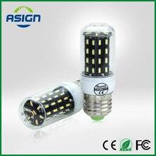 Ultra High Luminous Flux LED Bulb 4014 SMD E27 E14 LED Corn Bulb Chandelier AC220V 38LEDs 55LEDs 78LEDs 140LEDs LED Bulbs Light