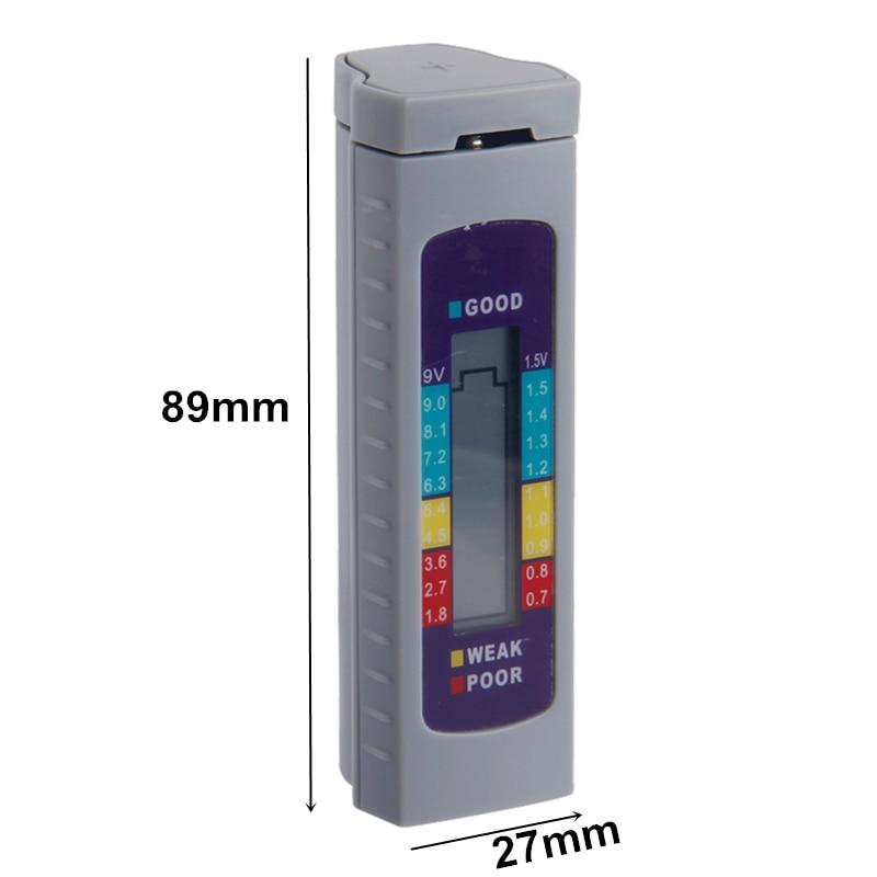 Akkumulátor tesztelő digitális univerzális akkumulátor - Mérőműszerek - Fénykép 3