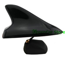 цена на NEW! Car Shark Fin With Signal Function Car Radio Antenna Aerial Sticker for Nissan Qashqai Opel Mokka Black White Silver