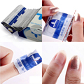 10Pcs Gel Lacquer Nail Polish Foil Easy Remover Cleaner Wraps Acetone Kit uv gel polish remove gel polish cleanser !