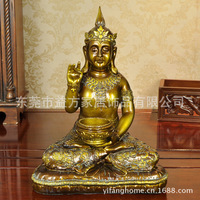Southeast Asian style Thai Buddhist art resin crafts jewelry household utility installed Candlestick Decoration