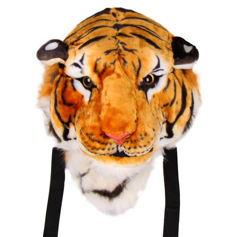 Image 2 - 2020 New Cool HUGE Luxury Tiger Head White Tiger Girl school bag Fashion Luxury Style Bag Women Knapsack Backpack Boy Tiger Bagstiger bagbackpack fashionfashion backpack -