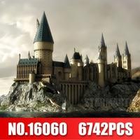 Lepin 16060 Harry Magic Potter Hogwarts Castle Compatible Legoingly 71043 Building Blocks Bricks Kids Educational Toys DIY
