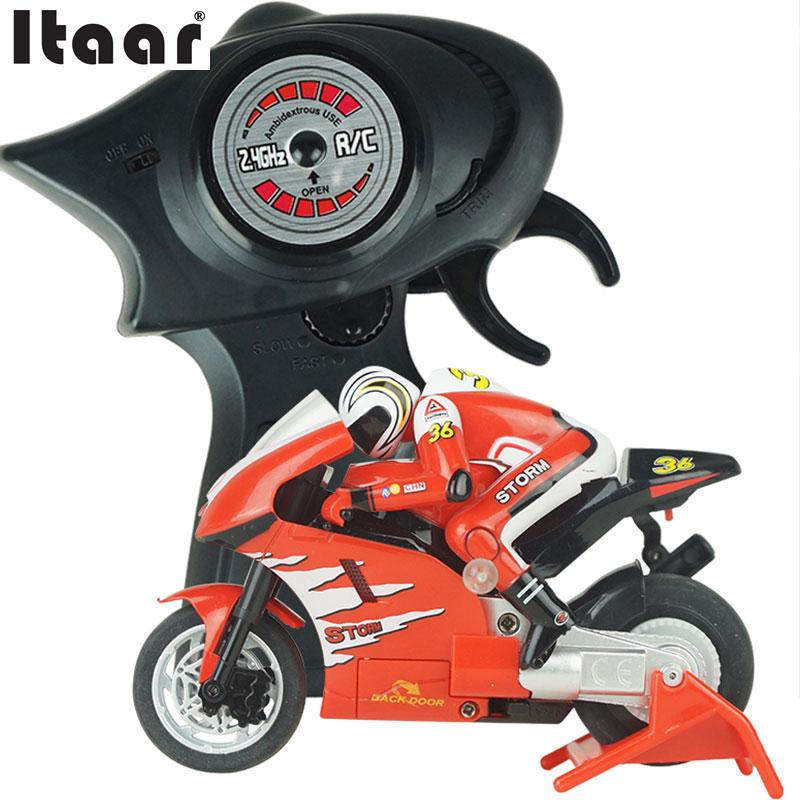 2.4GMhz 1:20 Speed Remote Control Electric RC Motorcycle Moto Bike RTR