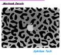 Efeitos visuais em 3d leopardo listra da zebra logotipo para a apple decal para macbook pele Air 11 13 13 Pro 15 Retina Parede Vinil Adesivo Completo