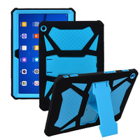 For Huawei M3 Lite 10 Case Silicone And PC Shockproof Heavy Duty Armor Cover For Huawei