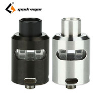 100 Original Geekvape Tsunami 24 RDA Atomizer Glass Window Version Adjustable Airflow Velocity Style Deck E
