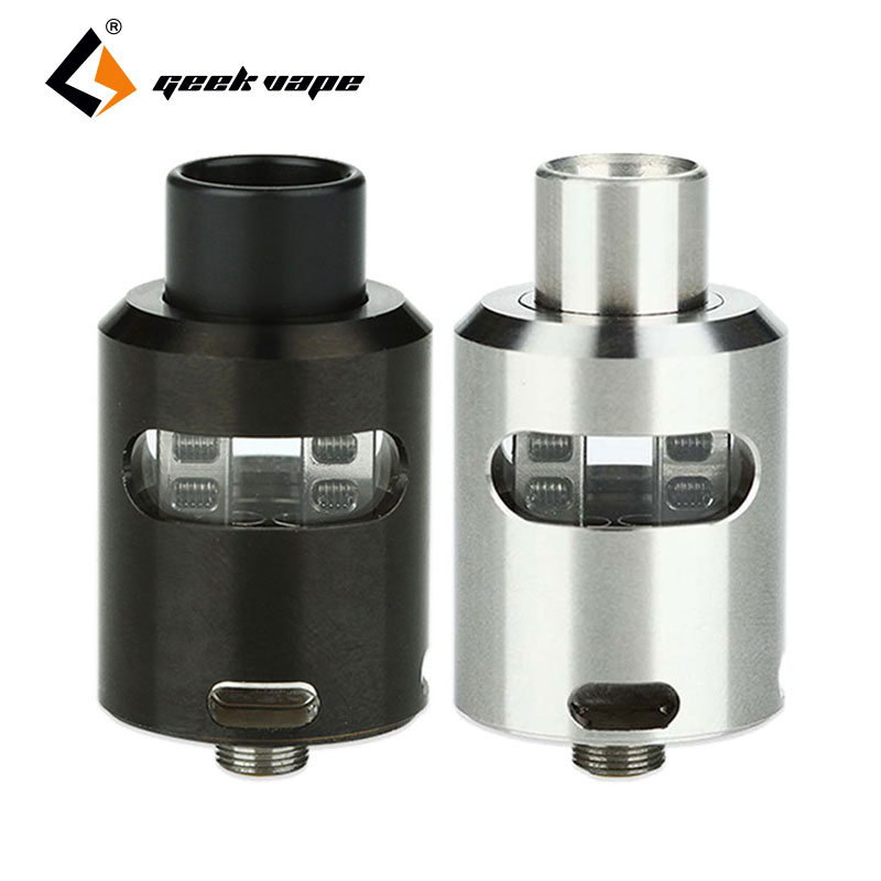 100% Original Geekvape Tsunami 24 RDA Atomizer Glass Window Version Adjustable Airflow Velocity-style Deck E Cigs Vape Tank