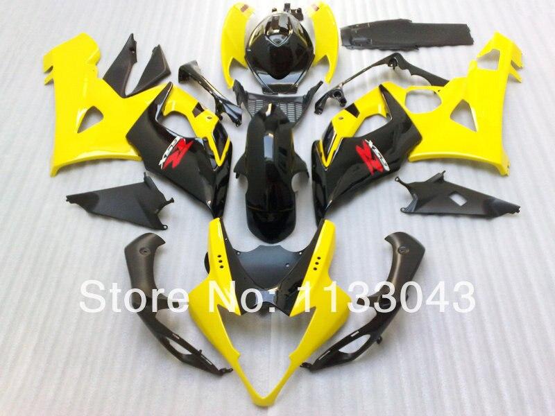 Yellow Black full Fairing for SUZUKI GSXR1000 2005 2006 GSX-R1000 05 06 GSXR1000 K5 05 06 2005 2006