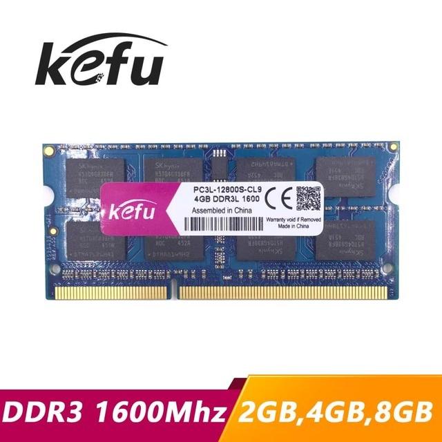 Kefu 2gb 4gb 8gb Ddr3 1600 Pc3 12800 So Dimm Laptop Ddr3 Ram 4gb