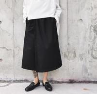 2018 New High Street Tide Men's fashion Hip Hop Casual skirtd Pants GD Hair Stylist Simple Wide Leg Pants