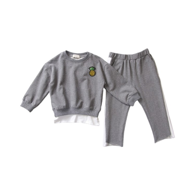 Baby Girl Clothing Sets Girl Tracksuits Costume Autumn Kids Sports Suit 2 8 Years Girls Clothes Suit Clothing Toddler Onesie Kid