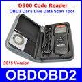 Универсальный D900 EOBD OBD2 Сканер Двигателя Автомобиля D900 Code Reader Диагностический Инструмент Для Мультибрендовый Автомобили 2015 Verison В на складе
