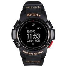 Лучшие Bluetooth 4.0 Смарт-часы Водонепроницаемый сна Мониторы удаленного Камера GPS спортивные F6 смарт-браслет для IOS Android ximi телефон