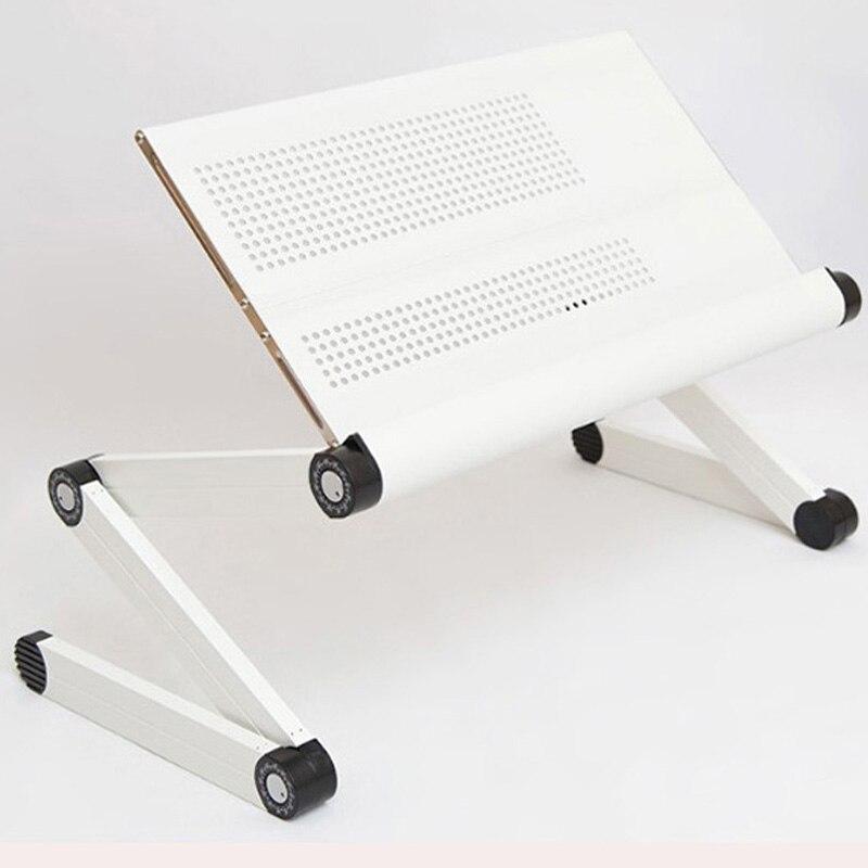 portable aluminum tablet computer desk folding laptop table desk multi functional bed stand desk with mouse aliexpresscom buy foldable office table desk
