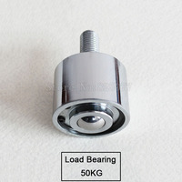 2PCS Precision type universal ball/caster/wheel, load bear 50kg, use downward ball with bearing/M12 screw JF1510