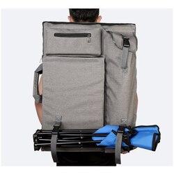 Grande saco de Arte para pintura prancheta conjunto de viagem saco para esboçar esboço ferramentas fontes da arte da pintura em Tela para o artista