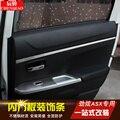 Per Mitsubishi ASX 2013 2019 4 pz/set Interno Finestra di assetto in acciaio inox decorazione auto accessori Auto Coperture Auto  per lo styling-in Cromature da Automobili e motocicli su