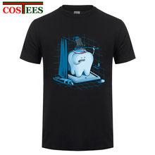 f043cd54f Funny t shirt men Dental Hygiene Tooth Healthy Great tshirt men Plus Size  XXXL brand China