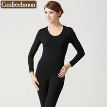 High Capability And Elastic Women's Thermal Underwear Sets Soft Bodysuit Modal female Thin Long Johns Warm Clothing In Winter 71