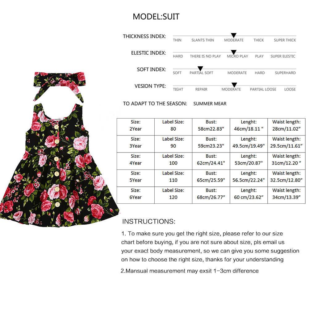 新夏の女ドレス蝶印刷の綿の赤ん坊ボヘミアドレス王女の衣装子供ビーチガール 2018 JSX