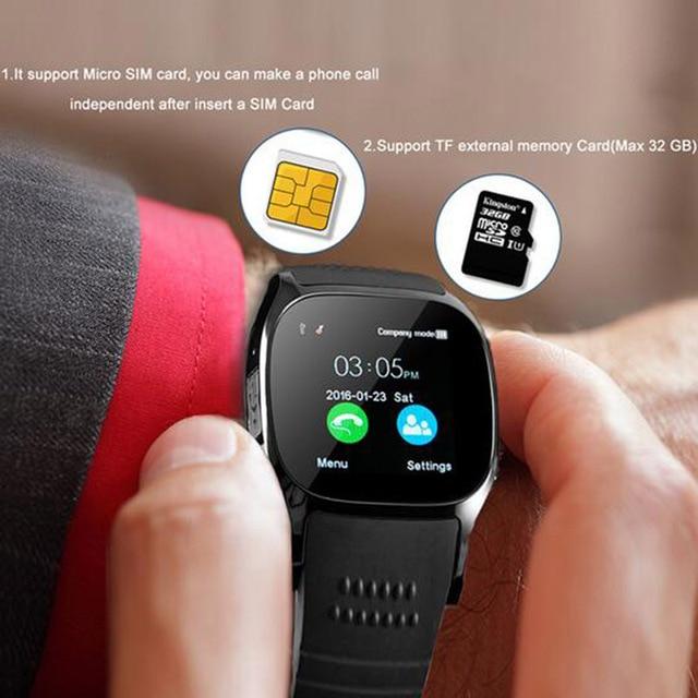 بلوتوث K5 الذكية ووتش مع كاميرا بلوتوث ساعة اليد ل IOS الروبوت الرجال مؤمن Smartwatch VS X6 U8 A1 Q18 DZ09 GT08 GV18 Y1