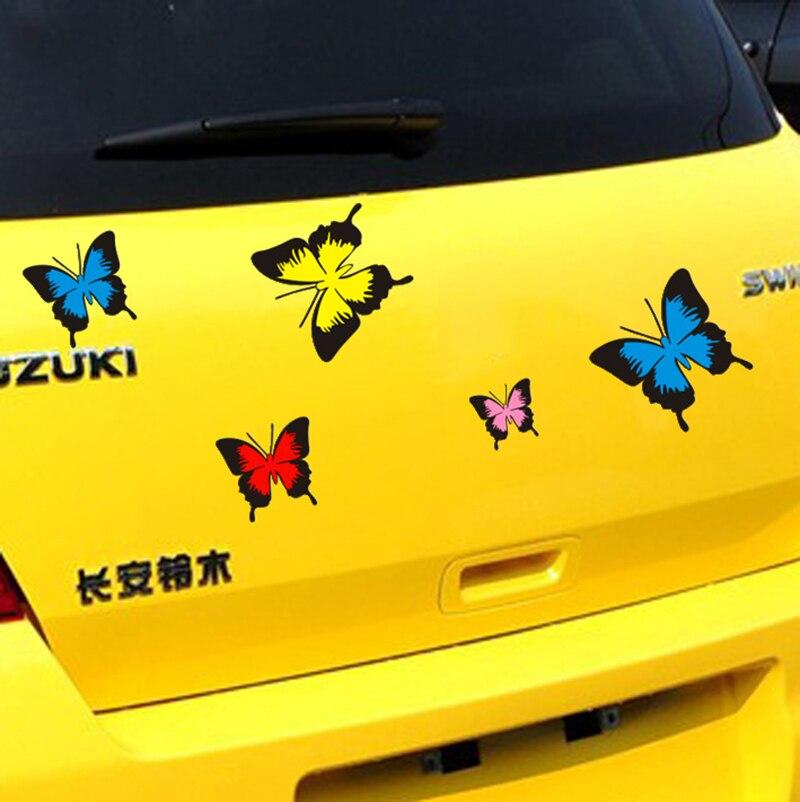 Bloque Cero Mariposa universales de Coches de Todo el Cuerpo Pegatina Y Calcoman