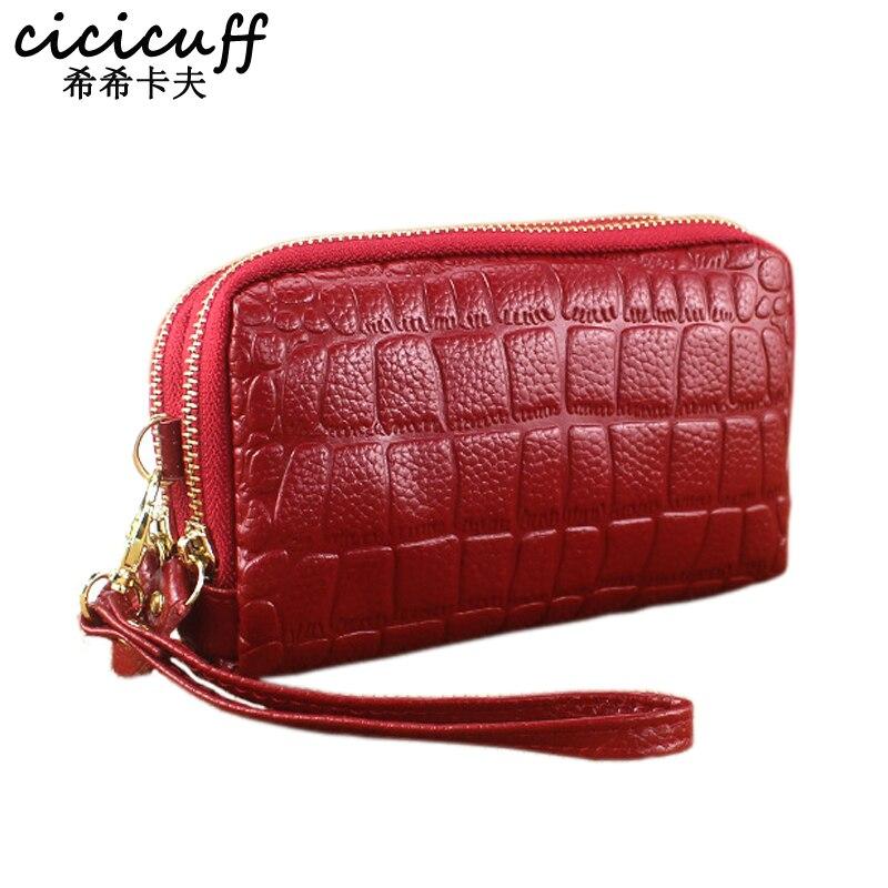 CICICUFF Fashion Genuine Leather…