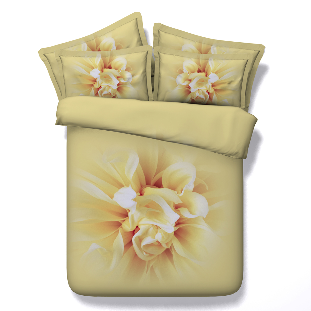 online buy wholesale japanese bedroom set from china japanese japanese floral 3d printed quilt cover bedding set queen super king double size orange comforter bedspread