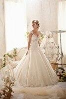 Vestido de noiva 2018 Ball Gown Detachable Straps Lace Applique vestido de casamento Bridal Gown mother of the bride dresses