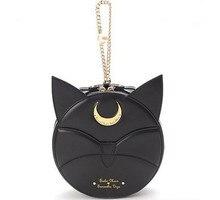 New Japanese harajuku Style Fashion Women Messenger Bags Cute Cat Ladies Sailor Moon Bag Cat Ear Girl Bags Luna Moon Bag Female