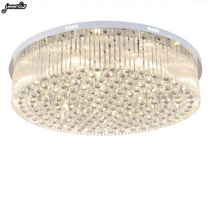 Top Selling Special Price 100 Guaranteed Large Modern Brief Ceiling Crystal Chandelier Crystal Lighting For Living Room Hall Ceiling Lights Aliexpress