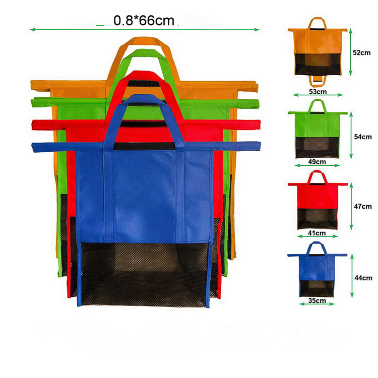 Reusable Eco-friendly Cart Supermarket Shopping Bags 4
