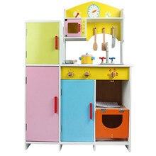 Baby Toys Refrigerator Kitchen Toys Set Children Simulation Pretend Play Wooden Toys Kitchen Toys Christmas/Birthday gift