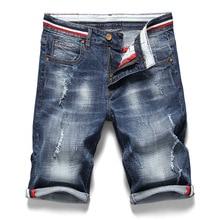 Mens Retro Casual Shorts Summer Breathable Denim Men Jeans Vintage Faded Multi-Pockets Biker Short work Plus Size