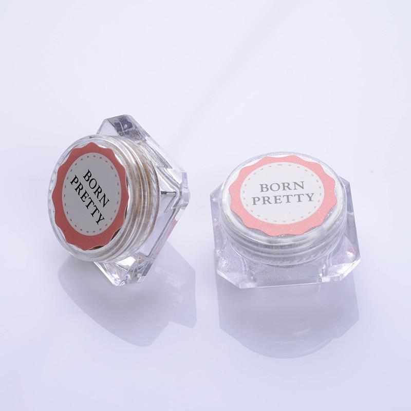 BORN PRETTY 4 τεμ. Σοκολάτα Matte Nail Glitter - Τέχνη νυχιών - Φωτογραφία 6