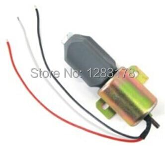 Fuel Shutdown Solenoid Valve 1756ES-12E3ULB1S5 SA-4735 / SA-4735-12 12V For VOLVO, HYUNDAI, Mitsubishi fuel shutdown solenoid valve 3935649 sa 4764 12 4946639 for cummins 6ct vw 2uo130764 ford bg2x9n392aa 2003es 12a7uc3b5s11