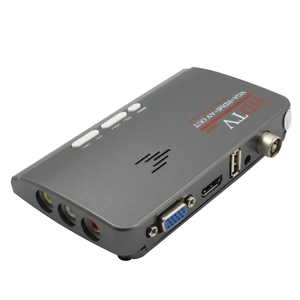 Image 5 - 2018 חדש דיגיטלי HDMI DVB T/T2 dvbt2 טלוויזיה VGA אופנה מקלט ממיר תואם עם כל CRT ומסכי LCD טלוויזיה מקלט לקבל
