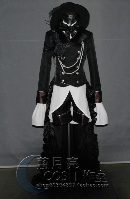 Kuroshitsuji Black Butler ciel phantomhive font b Cosplay b font font b Anime b font Costume