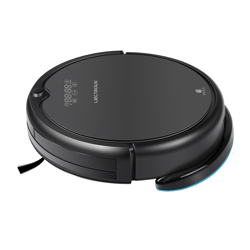 LIECTROUX Q7000 Robot Vacuum Cleaner, Smart Planned Type,Virtual Blocker,Zigzag,Robot Aspirador With Water Tank