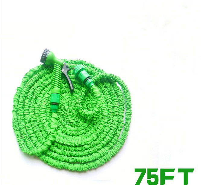 High quality 75FT Telescopic Garden Hose Magic Water Hose Washing Car water pipe With Spray Nozzle/ Connector Free Shipping-in Garden Hoses u0026 Reels from ...  sc 1 st  AliExpress.com & High quality 75FT Telescopic Garden Hose Magic Water Hose Washing ...