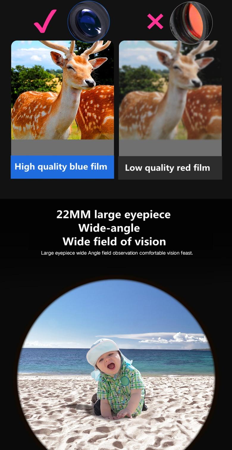 alta vezes claramente visão telescópio lll visão