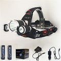 6000 Lumen Linterna Frontal LED Headlamp Head Lamp T6 3x LED Headlight Head Torch Flashlight+Battery+Car Charger+Charger H3000A6